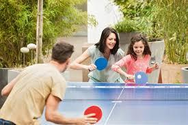 aile ile masa tenisi